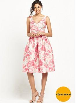 miss-selfridge-jacquard-midi-prom-dress