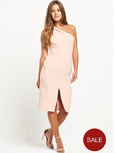 miss-selfridge-petite-one-shoulder-midi-dress-blush