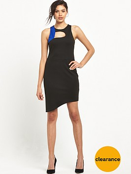 miss-selfridge-colourblock-curve-hem-dress