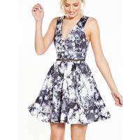 Miss Selfridge Photographic Print Prom Dress Verycouk