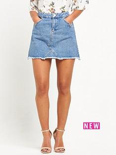 miss-selfridge-petite-denim-skirt-blue