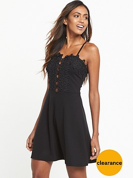 miss-selfridge-cornelli-mesh-skater-dress