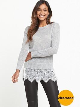 miss-selfridge-lace-2-in-1-fine-knit-jumper