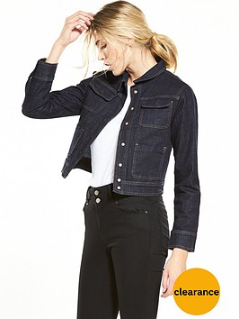 miss-selfridge-denim-boxy-trucker