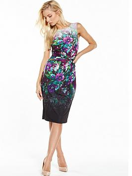 Phase Eight Wren Scuba Dress - Floral Print