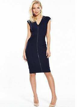 Phase Eight Bonnie Zip Dress - Navy