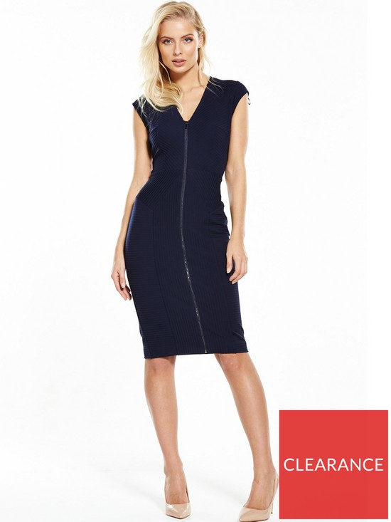 3c1048987b1 Phase Eight Bonnie Zip Dress - Navy