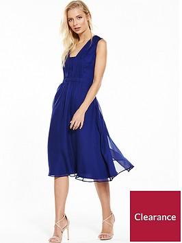 phase-eight-tianna-plain-dress-cobalt