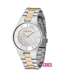 police-splendor-two-tone-stainless-steel-bracelet-mens-watch