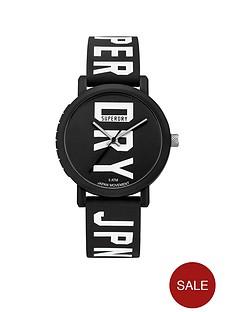 superdry-superdry-campus-block-black-dial-black-logo-printed-silicone-strap-watch