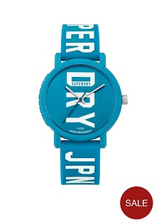 superdry-nbspcampus-block-blue-dial-blue-logo-printed-silicone-strap-watch