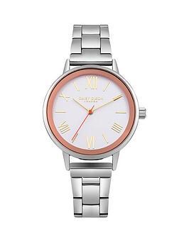 daisy-dixon-emmie-matte-white-dial-silver-metal-bracelet-ladies-watch