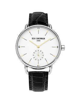 ben-sherman-white-dial-sub-second-dial-black-croc-leather-strap-mens-watch