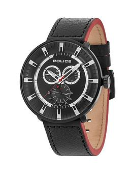 police-league-black-multi-dial-black-leather-strap-mens-watch