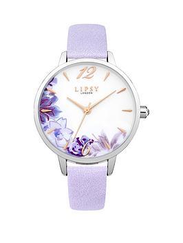 lipsy-floral-photo-print-dial-lilac-pu-strap-ladies-watch