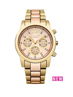lipsy-lipsy-rose-gold-sunray-multi-look-dial-rose-gold-gold-metal-bracelet-watch