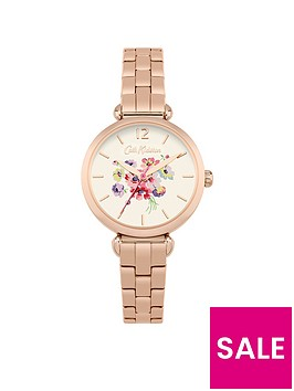 cath-kidston-mallory-bunch-off-white-pastel-printed-dial-gold-t-bar-bracelet-ladies-watch