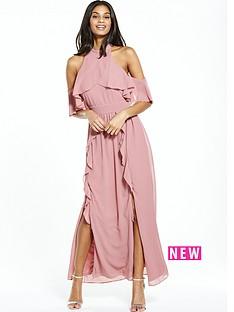 tfnc-pink-maxi-dress