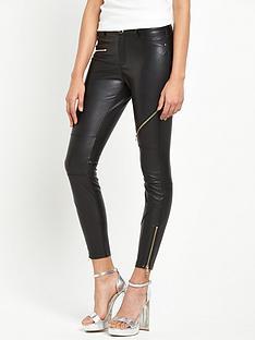 river-island-pu-skinny-trouser-black