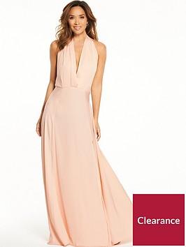 myleene-klass-deep-v-front-tie-maxi-dress