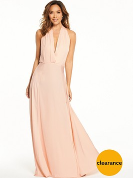 myleene-klass-deep-v-front-tie-maxi-dress