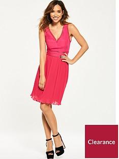 myleene-klass-v-front-pleat-skirt-dress