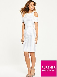 myleene-klass-cold-shoulder-pencil-dress
