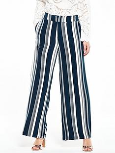 vila-vistrive-wide-leg-printed-pant-total-eclipse