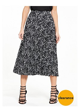 v-by-very-mono-print-pleat-skirt