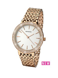 sekonda-sekonda-white-dial-stone-bezel-rose-tone-bracelet-ladies-watch