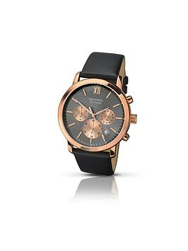 sekonda-sekonda-grey-multidial-black-leather-strap-mens-watch