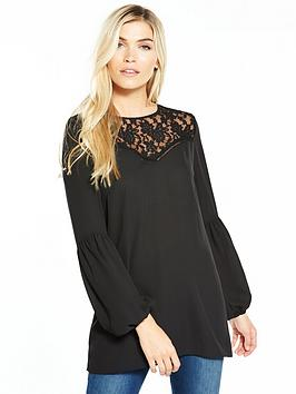 v-by-very-lace-insert-tunic