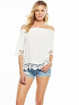 v-by-very-lace-trim-crinkle-bardot-top