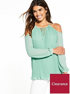 v-by-very-cold-shoulder-pleat-blouse