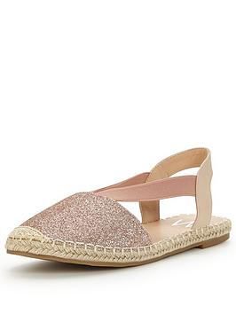 wallis-bellatrix-metallic-espadrille