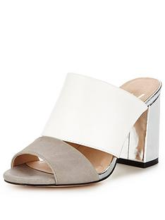 wallis-stevienbsptwo-part-mule-light-grey