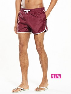 river-island-side-stripe-print-swim-shorts
