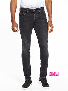 river-island-skinny-fit-faded-jeans