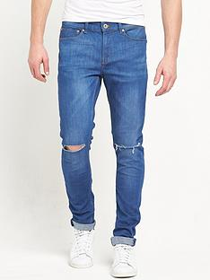 river-island-skinny-fit-knee-slash-jeans