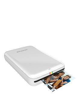 polaroid-polaroid-zip-instant-printer-white-with-optional-50-pack-2x3-premium-zink-paper
