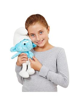 the-smurfs-smurfs-talking-feature-plush-clumsy