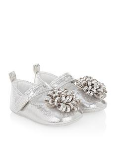 monsoon-baby-girls-pom-pomnbspbooties