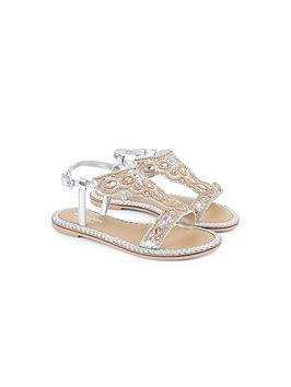 monsoon-girls-premium-metallic-beaded-sandals