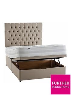 silentnight-mirapocketnbsppaige-1400-orthonbsplift-up-storage-divan-bed-headboard-not-included