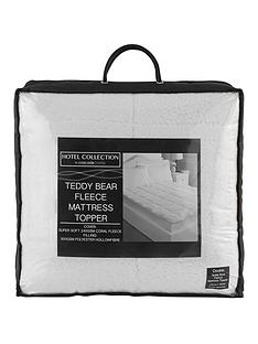 hotel-collection-luxury-supersoft-fleece-mattress-topper