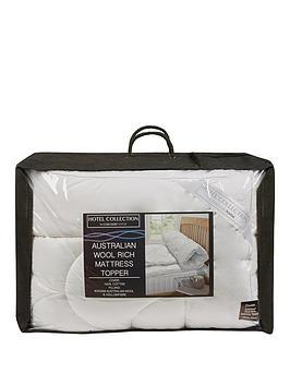 hotel-collection-australian-wool-rich-5cm-mattress-topper