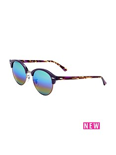 ray-ban-rayban-rainbow-lense-clubround-sunglasses
