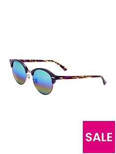 ray-ban-rayban-rainbow-lense-clubround-sunglasses