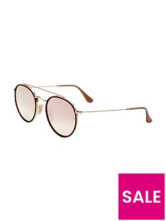 ray-ban-rayban-mirror-lense-double-brow-sunglasses