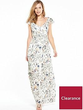 vila-asuli-cap-sleeve-maxi-dress-pristine
